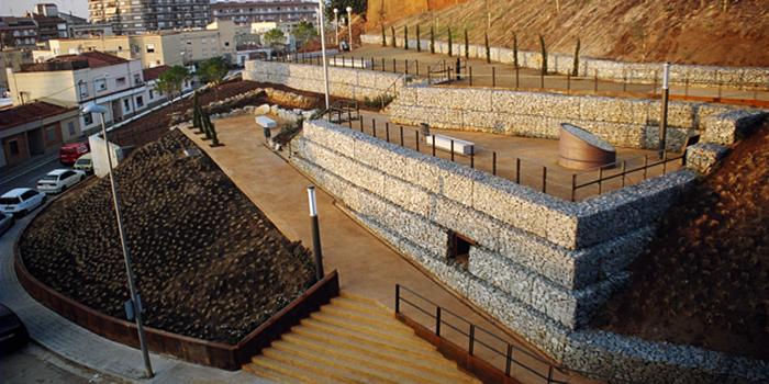 Urbanització talusos cementiri, Mataró
