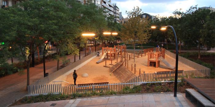 Reurbanització Plaça Lesseps
